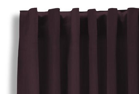 Lifa Living verduisterende gordijnen | Kant & klaar verkrijgbaar in 10 kleuren en 2 maten wijnrood haken