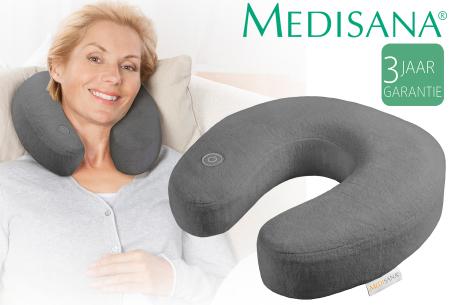 Medisana nekmassagekussen nu in de aanbieding met hoge korting