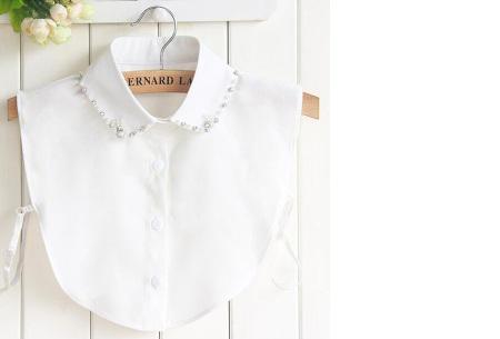 Diamond blouse kraagjes | Losse kraagjes voor onder je trui - 16 verschillende kleuren/prints #1