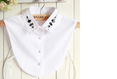 Diamond blouse kraagjes | Losse kraagjes voor onder je trui - 16 verschillende kleuren/prints #5