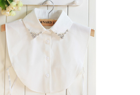 Diamond blouse kraagjes | Losse kraagjes voor onder je trui - 16 verschillende kleuren/prints #6