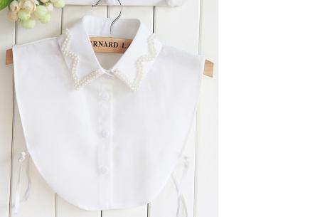 Diamond blouse kraagjes | Losse kraagjes voor onder je trui - 16 verschillende kleuren/prints #8