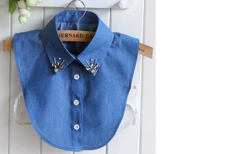 Diamond blouse kraagjes | Losse kraagjes voor onder je trui - 16 verschillende kleuren/prints #9