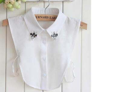 Diamond blouse kraagjes | Losse kraagjes voor onder je trui - 16 verschillende kleuren/prints #11