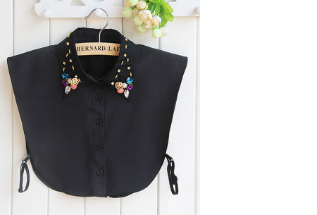 Diamond blouse kraagjes | Losse kraagjes voor onder je trui - 16 verschillende kleuren/prints #12