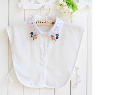 Diamond blouse kraagjes | Losse kraagjes voor onder je trui - 16 verschillende kleuren/prints #13