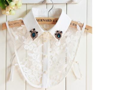 Diamond blouse kraagjes | Losse kraagjes voor onder je trui - 16 verschillende kleuren/prints #14