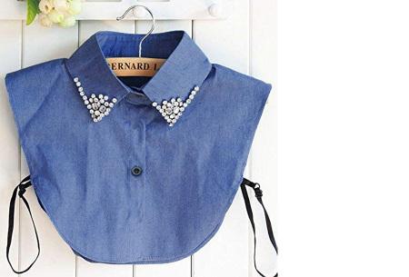 Diamond blouse kraagjes | Losse kraagjes voor onder je trui - 16 verschillende kleuren/prints #15