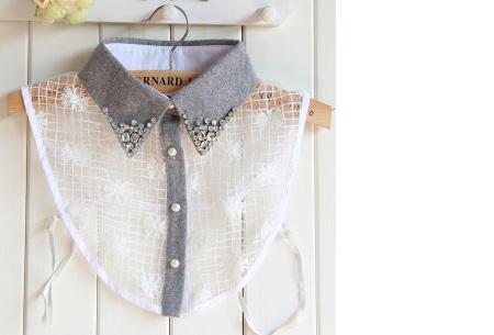 Diamond blouse kraagjes | Losse kraagjes voor onder je trui - 16 verschillende kleuren/prints #16