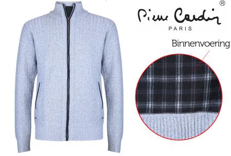 Pierre Cardin vest | Met fleece binnenzijde voor de koude dagen grey marl