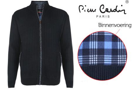 Pierre Cardin vest | Met fleece binnenzijde voor de koude dagen navy