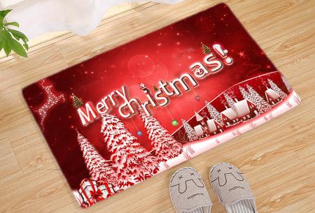 Kerst deurmat in 19 uitvoeringen | Verwelkom je kerstgasten in stijl! #1