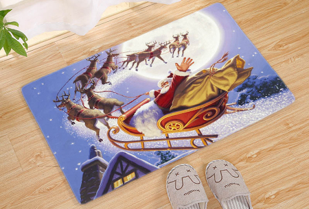 Kerst deurmat in 19 uitvoeringen | Verwelkom je kerstgasten in stijl! #6