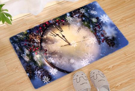 Kerst deurmat in 19 uitvoeringen | Verwelkom je kerstgasten in stijl! #12