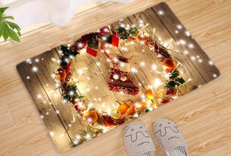 Kerst deurmat in 19 uitvoeringen | Verwelkom je kerstgasten in stijl! #13