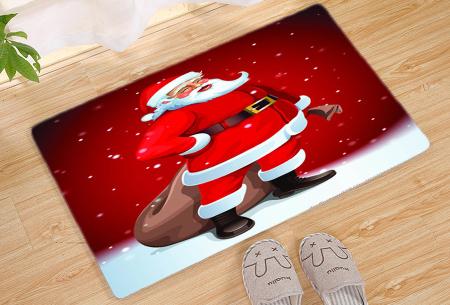Kerst deurmat in 19 uitvoeringen | Verwelkom je kerstgasten in stijl! #17