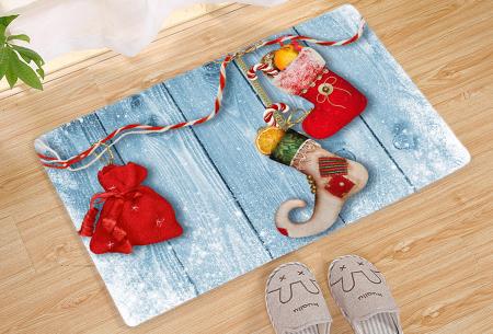 Kerst deurmat in 19 uitvoeringen | Verwelkom je kerstgasten in stijl! #14