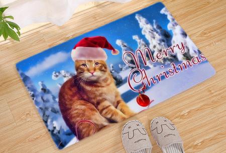 Kerst deurmat in 19 uitvoeringen | Verwelkom je kerstgasten in stijl! #9