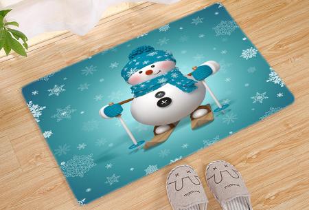 Kerst deurmat in 19 uitvoeringen | Verwelkom je kerstgasten in stijl! #19