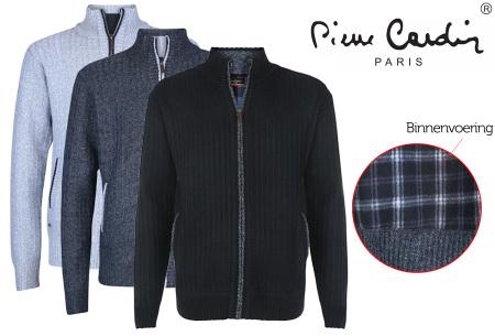 Pierre Cardin fleece vest - nu met mega korting