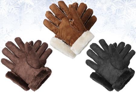 PU leren handschoenen - nu met heel veel korting