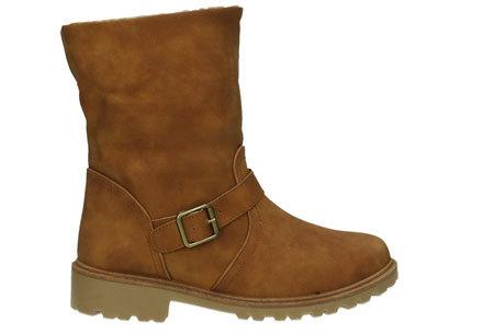 Gevoerde Buckle enkellaarsjes   De tijd van koude voeten is voorbij  Camel