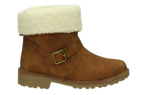 Gevoerde Buckle enkellaarsjes   De tijd van koude voeten is voorbij