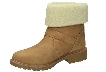 Gevoerde Buckle enkellaarsjes | De tijd van koude voeten is voorbij