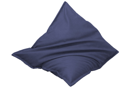 Drop & Sit leather look zitzak | Keuze uit 14 kleuren en 2 afmetingen blauw