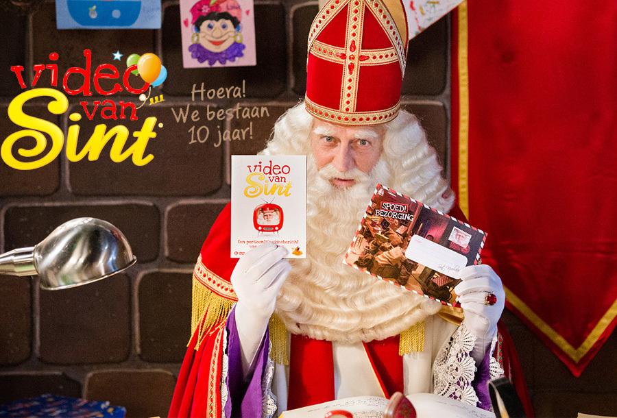 Boodschap van de Sint & Pieten Persoonlijke boodschap van Sinterklaas