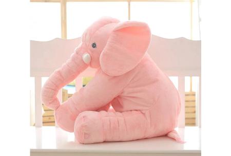 Olifant knuffel  | Zacht knuffeldier voor baby's & kinderen in 2 afmetingen  roze