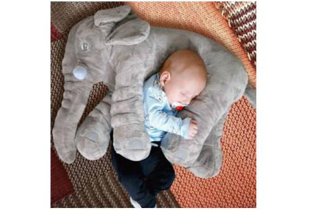 Olifant knuffel  | Zacht knuffeldier voor baby's & kinderen in 2 afmetingen