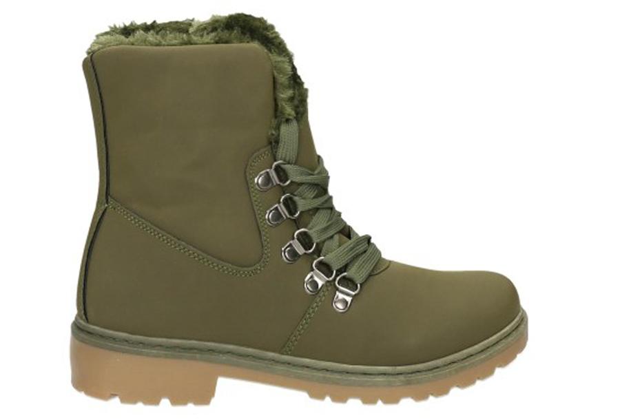 Cozy boots Maat 40 - Legergroen