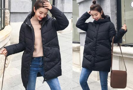 Padded winterjas | Trotseer de koude winter met deze heerlijk warme damesjas zwart