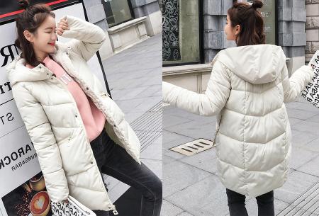Padded winterjas | Trotseer de koude winter met deze heerlijk warme damesjas wit