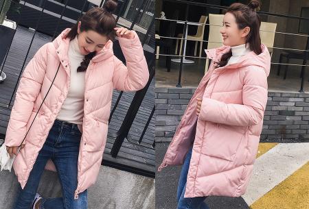 Padded winterjas | Trotseer de koude winter met deze heerlijk warme damesjas roze