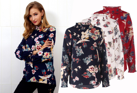 Flower blouse - in de aanbieding