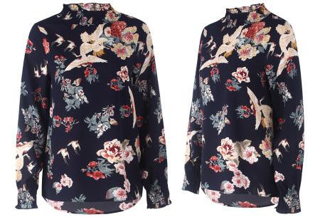 Flower blouse | Stijlvolle dames top met bloemenprint