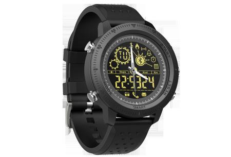 Smart Tacwatch 500 | Onverwoestbare militaire smartwatch  Zwart