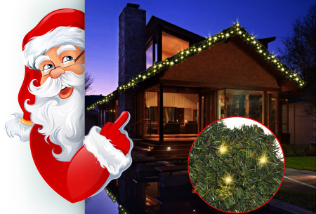 Guirlande - kerstdecoratie nu met mega korting