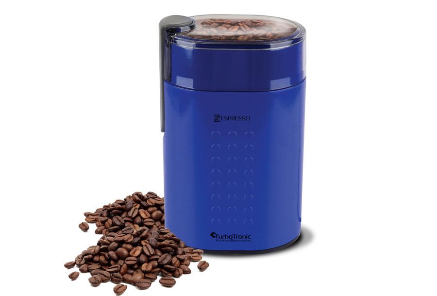 TurboTronic koffiemachine & koffiemolen Koffiemolen - blauw
