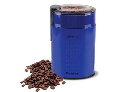 TurboTronic Zespresso koffiezetapparaat | Voor de heerlijkste verse koffie thuis of op kantoor blauw
