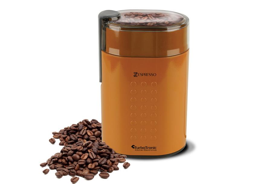 TurboTronic koffiemachine & koffiemolen Koffiemolen - geel