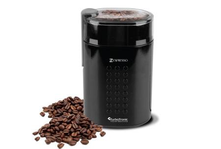 TurboTronic Zespresso koffiezetapparaat | Voor de heerlijkste verse koffie thuis of op kantoor zwart