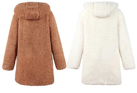 Reversible teddy vest | Heerlijk warm, zacht en comfortabel