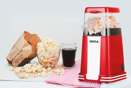Jocca popcorn machine - nu super voordelig