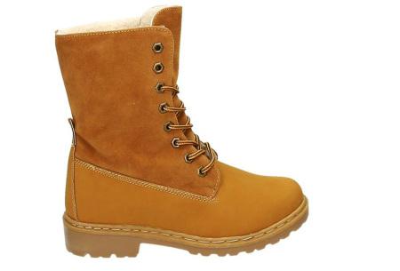 Gevoerde boots   Nu verkrijgbaar in maar liefst 7 kleuren Camel