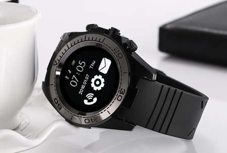 Solid smartwatch   Bedien je smartphone via deze multifunctionele Bluetooth smartwatch!