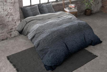 Flanellen dekbedovertrekken van Dreamhouse | Voor een warme & comfortabele nachtrust gradient - blauw