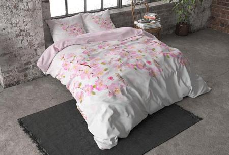 Flanellen dekbedovertrekken van Dreamhouse | Voor een warme & comfortabele nachtrust sweet flowers - roze
